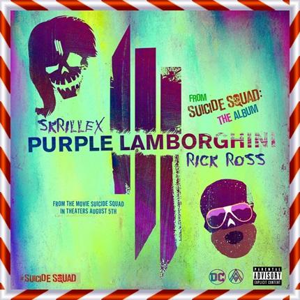 スーサイドスクワッドの曲が超かっこいい!予告CMの曲名や歌手は?Purple Lamborghini