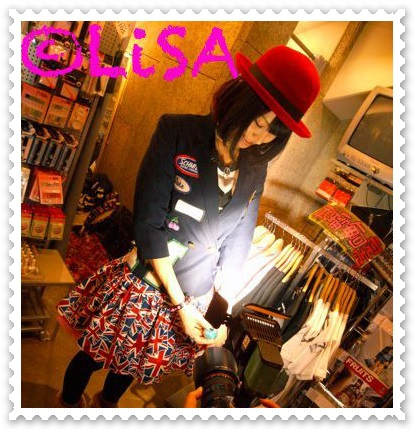LiSA 可愛すぎるファッションスピンズ