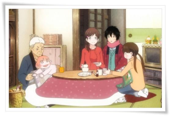 3月のライオン 川本3姉妹と祖父