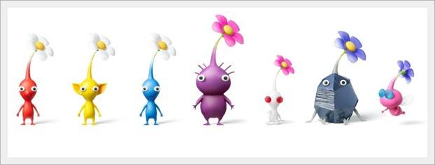 ピクミンシリーズの種類&亜種一覧!何色がおすすめ?敵もかわいい!1